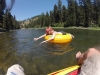 Blackfoot River float trip with Alexis