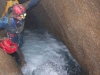 Waterfall climb in the River Gallery of the Scapegoat Cave System, Copyright Marc Pederson
