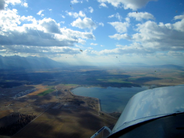 Flying south from Polson