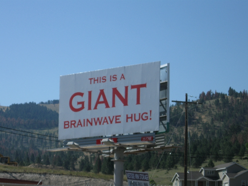 Giant Brainwave Hug!