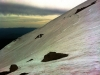 Natural skiing slopes on Mt. Adams, June 2013 by Daryl Greaser