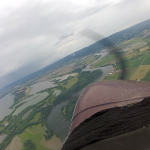 Columbia River flying