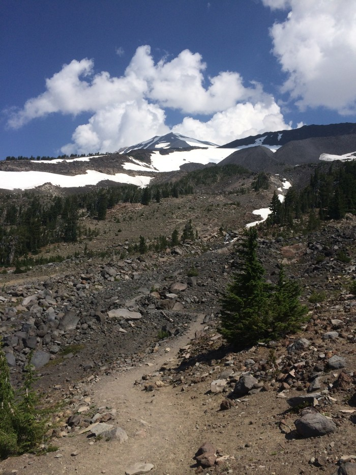 Crescent Glacier, Mt. Adams, August 2014 by Daryl Greaser