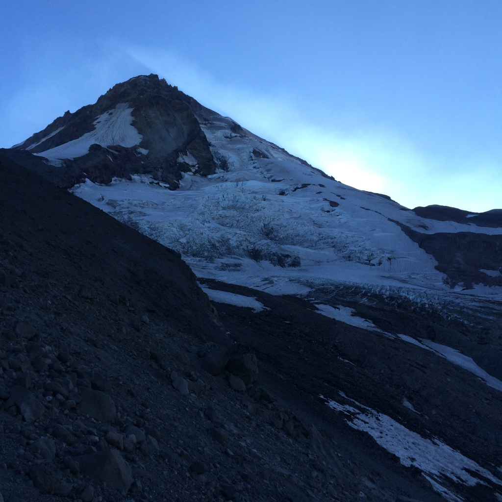 Eliot Glacier, Mt. Hood's northeast aspect.