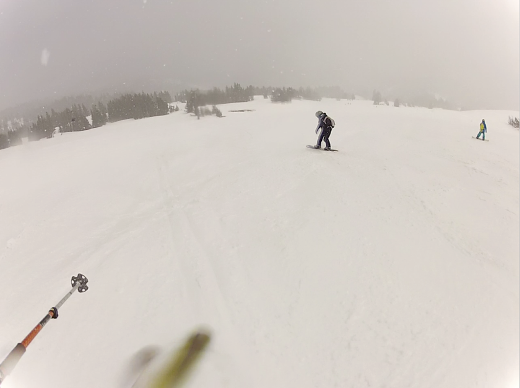 powder day at mount hood meadows