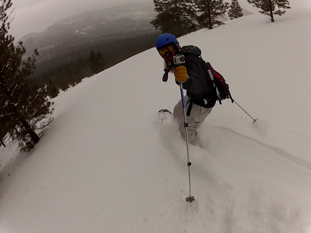 skiing mount sentinel missoula montana march 2014
